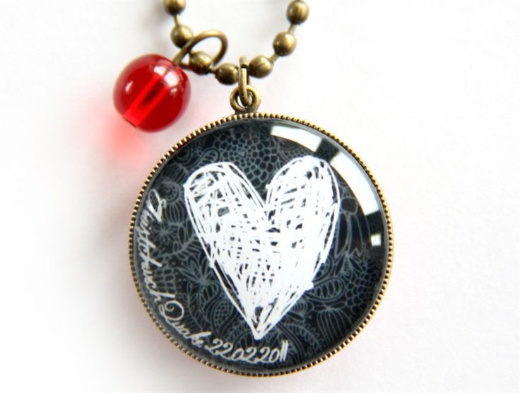 Love Christchurch Pendant Necklace. 20% of proceeds donated to the Red Cross Earthquake Appeal. www.cloudninecreative.co.nz