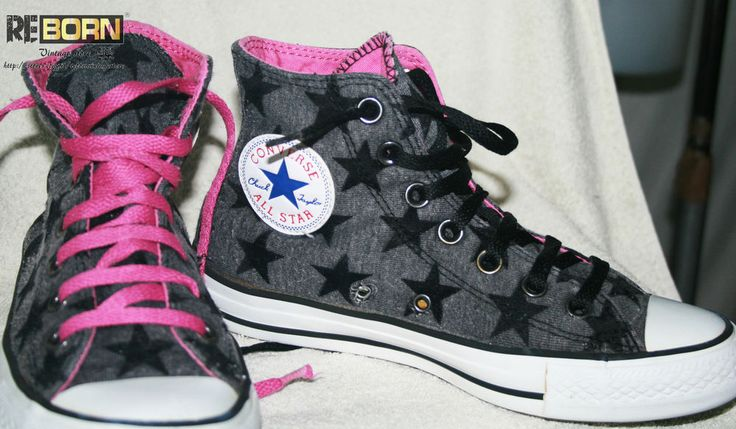 SCARPE CONVERSE DA DONNA ALTE / CONVERSE WOMAN HIGH SHOES