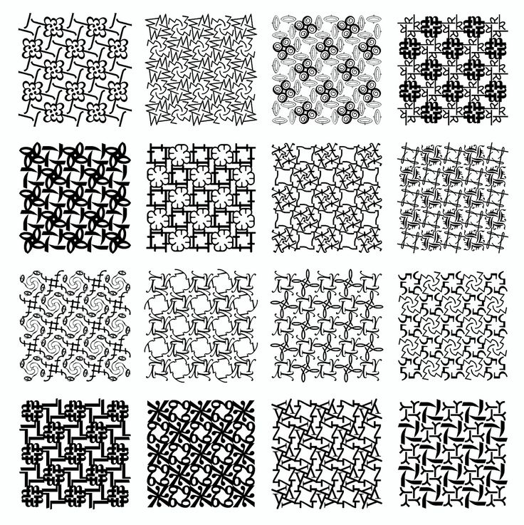 Typography patterns