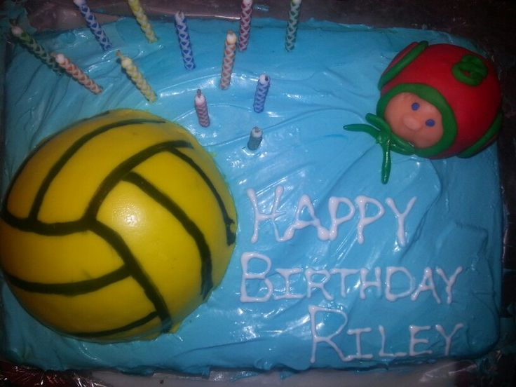 16 Best Water Polo Cakes Images On Pinterest Conch
