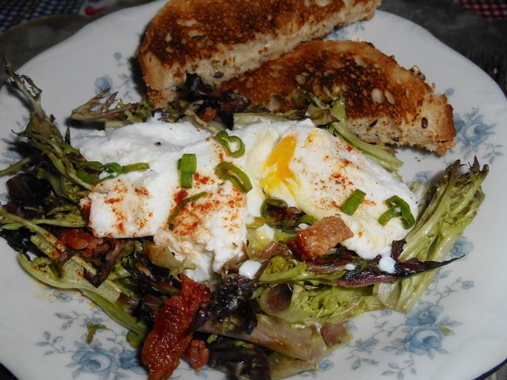 One of the great French salads named after Lyon, France. I always thought it was Italian because my high school girl friend's parents always ate it after Sunday morning Mass. Her mother was a…