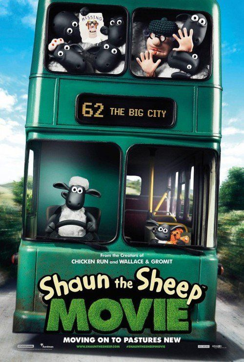 Shaun the Sheep Movie Moving on to Pastures New.  When Shaun decides to take the day off and have some fun, he gets a little more action than he bargained for. A mix up with the Farmer, a caravan and a very steep hill lead them all to the Big City and it's up to Shaun and the flock to return e...
