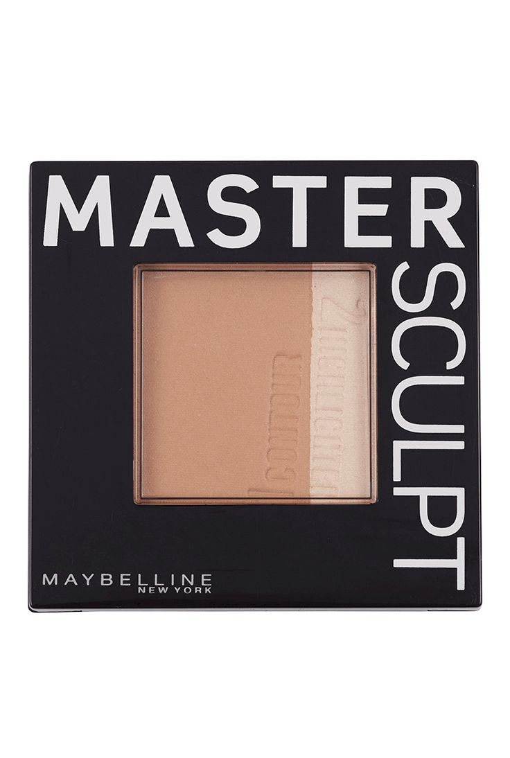 Sculpt, define and reshape the look of your face in three easy steps with Master Sculpt contour kit by Maybelline.