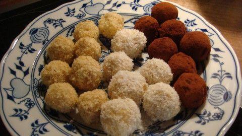 Jáhlové kuličky - kokosové,čokoládové,dýňové ....... - Powered by @ultimaterecipe