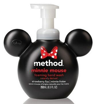 I love this cute Minnie Mouse Method Hand Soap!