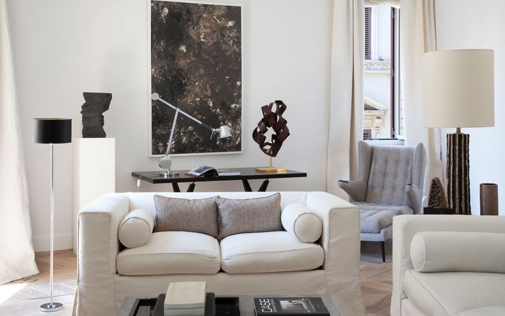 Stefano dorata architetto appartamento piazza di spagna for Appartamento design roma
