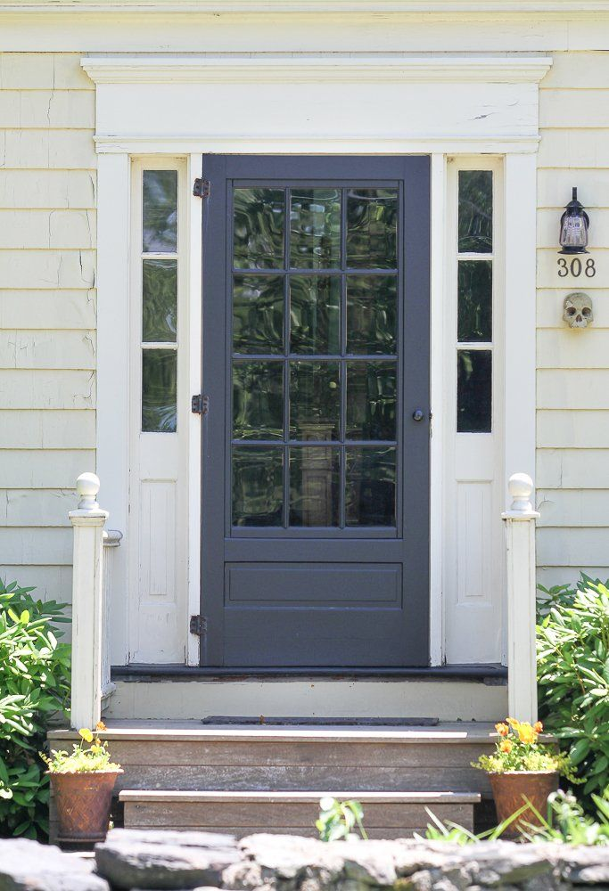 13 best images about front door magic colonial styles on for Glass door in front of front door