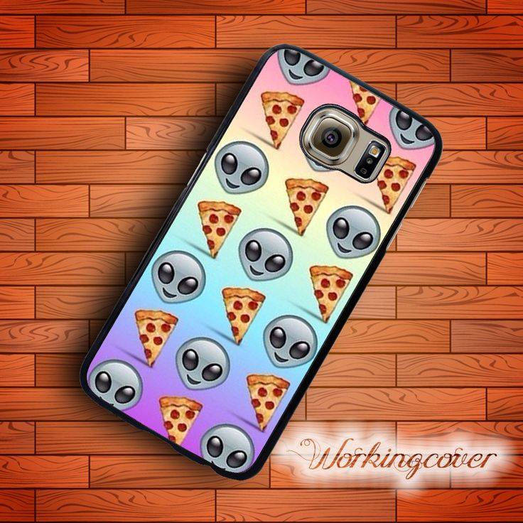 Fundas Pizza Emoji Cool Design Case for Samsung Galaxy S7 S6 S5 S4 S3 Edge Plus Case Cover for Galaxy Grand Prime Case.