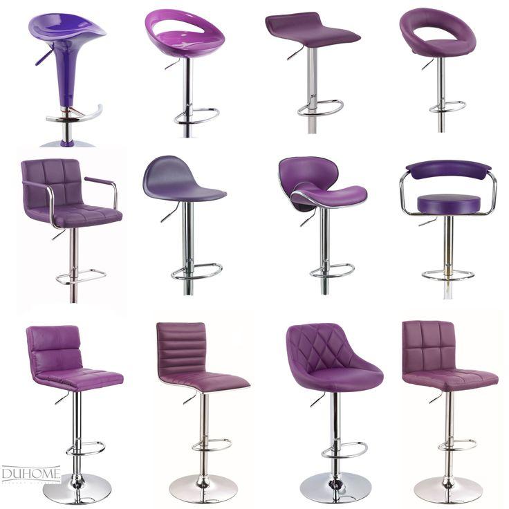 2 X Barhocker LILA / PURPLE EDITION / Bar stool / Tabouret de Bar/ Sgabello  sc 1 st  Pinterest & 43 best Plum Decor images on Pinterest | Plum decor Bar stool and ... islam-shia.org