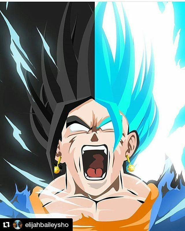 #Repost @elijahbaileysho  What we wanted and what we got. He is coming. #SuperSaiyanBlue #SuperSaiyanGodSuperSaiyanBlue #Vegito #SuperSaiyanBlueVegito #VegetaPlusGoku #Goku #Vegeta #PotaraFusion #Fusion #DragonballSuper #DBs #DragonballZ #DBZ