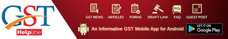 This app keep u well informed on the GST through GST news and explains the working of GST India under GST draft law. https://play.google.com/store/apps/details?id=com.gsthelpline&hl=en