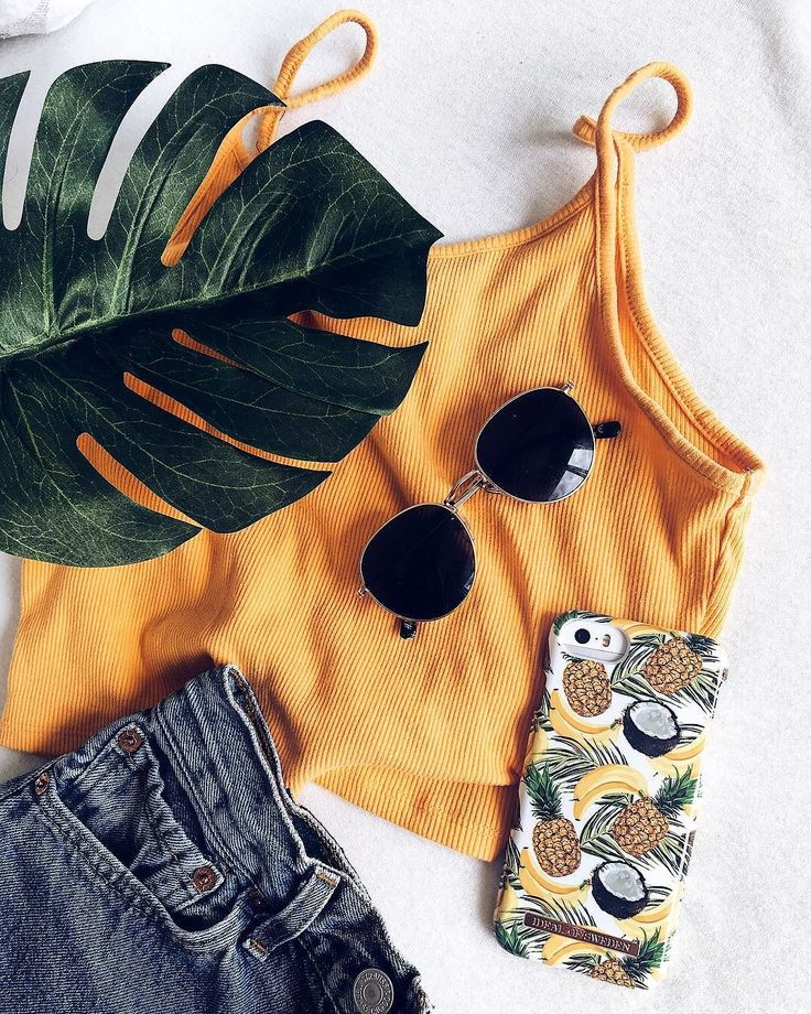 'Banana Coconut' by lovely @lenaegelaand - iDeal of Sweden Fashion case #banana #coconut #flatlay #fashion #inspo #iphone #outfit
