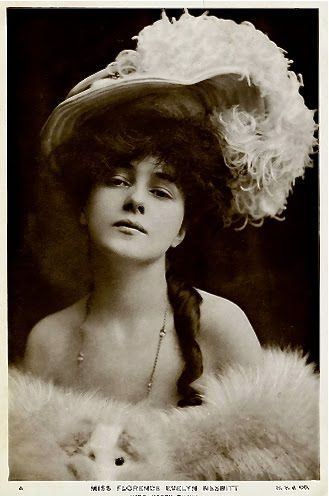 Evelyn Nesbit, Supermodel of le Belle Epoque