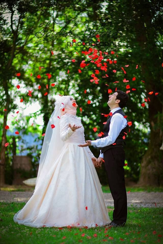 A handsome guy and a pretty girl will make a beautiful wedding. A faithful husband and a pious wife will make a beautiful marriage. www.professionalmuslim.com #PerfectMuslimWedding