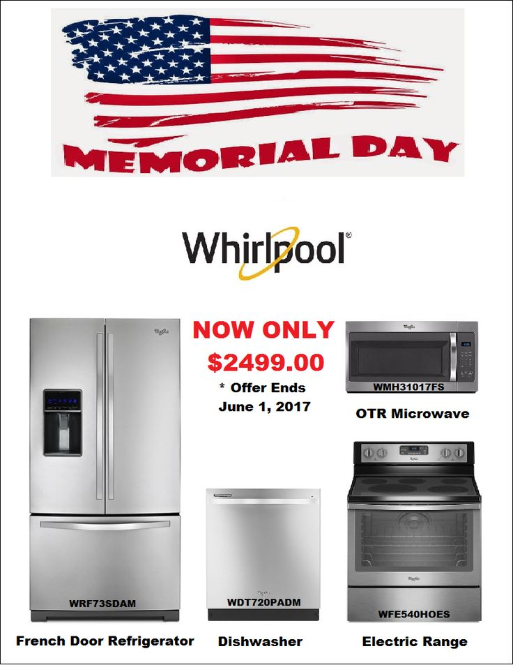 Ss Whirlpool Kitchen Appliance Package Discount