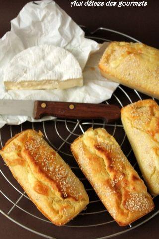 Moelleux au camembert et au sésame