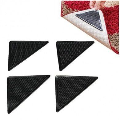Ruggies Rug Grippers Non Slip Pad Reusable Keeps Rugs Mats In Place Gripper Stopper Ruggy Washable Carpet Floor Suction Gri