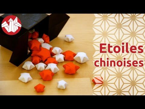 Origami Etoiles Chinoises Du Bonheur Chinese Lucky Stars Hd Senbazuru Youtube Noel