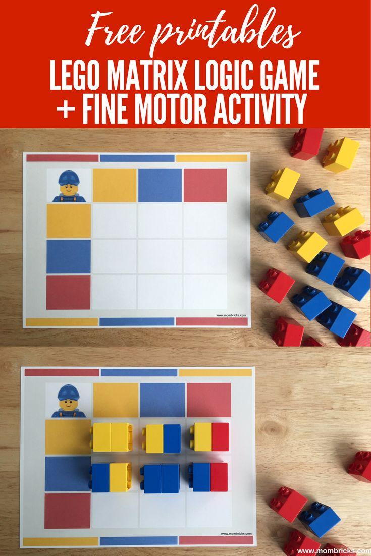 Esta semana hicimos unjuego de lógica con ladrillos LEGO. El juego fue bien sencillo de hacer. Le preparé a mis niños esta tabla de doble entrada con recuadros de diferentes colores. Con este juegoquería que mis niños desarrollaran ladiscriminación visual …