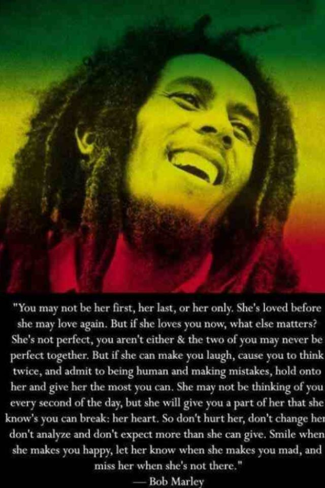 Bob Marley best ever quote