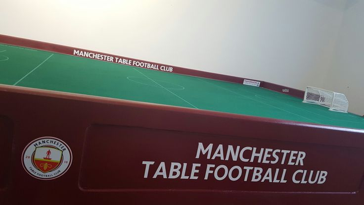 New table ready for the new season, Get Involved #Manchester #Subbuteo #TableFootball #Football