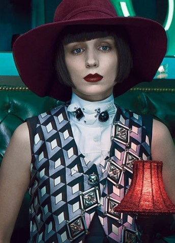 The Girl with the Dragon Tattoo star Rooney covers at W magazine 40th Anniv.