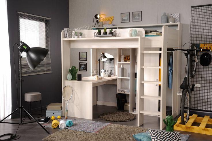Die besten 25+ Integrierter Schreibtisch Ideen auf Pinterest - hochbett mit schreibtisch 2