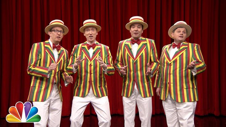 Jimmy Fallon's Barbershop Quartet Covers R. Kelly's 'Ignition (Remix)' on 'The Tonight Show'