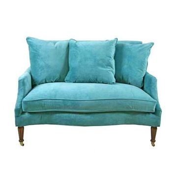 Recliner Sofa Best Turquoise sofa ideas on Pinterest Turquoise couch Teal sofa inspiration and Teal i shaped sofas