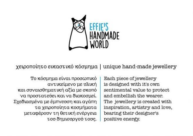 Hand made jewellery.