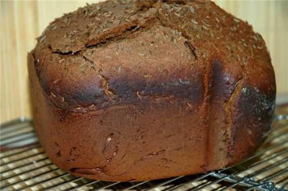 Рецепт хлеб 'Рижский скорый' (хлебопечка)