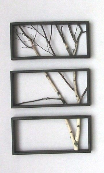 Inexpensive and simple way to add some art to your walls!