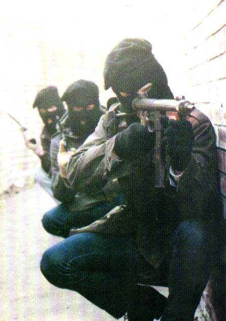 Three Volunteers of an Active Service Unit of the Irish Republican Army