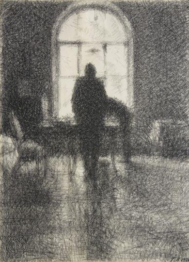 Верейский Георгий Семенович, Окно. Сумерки, 1928г