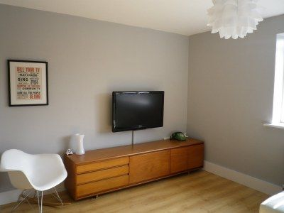 Dulux Chic Shadow In Family Room
