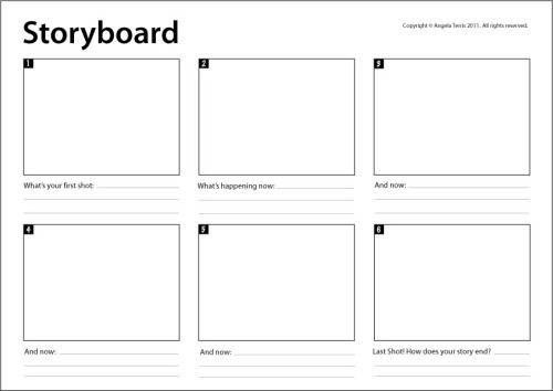 storyboard templates images - Google Search