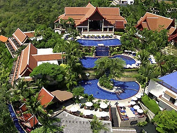 Phuket! And the three tiered pool at the Novotel Phuket Resort