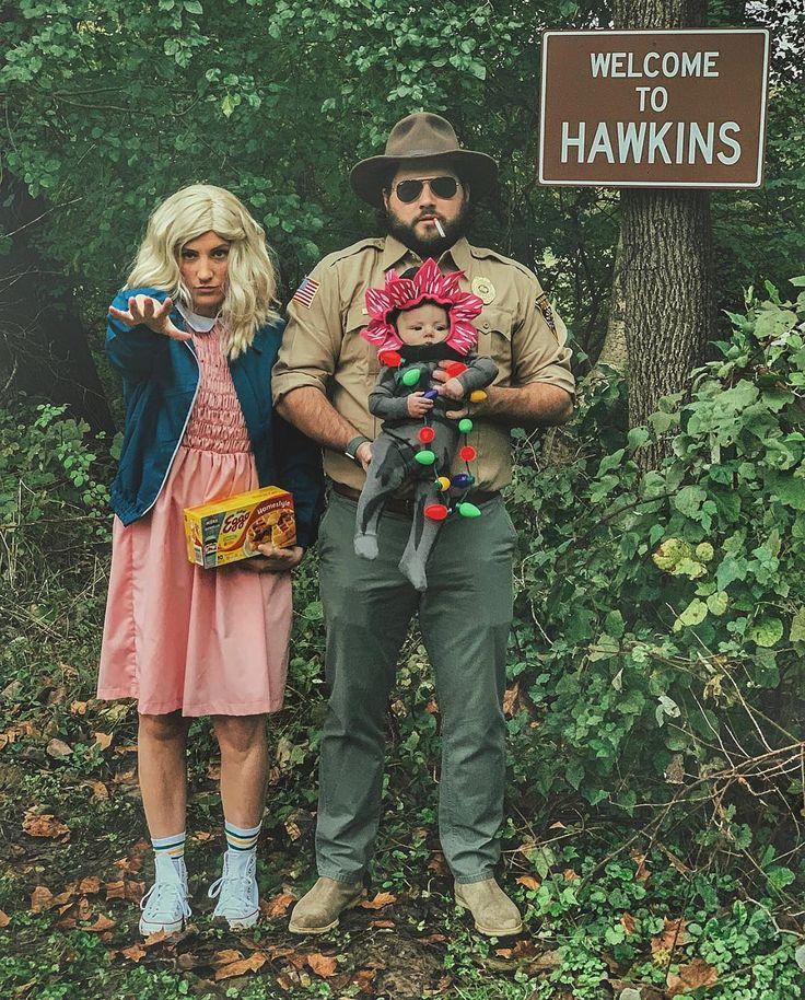 "Mike Tabb® on Instagram ""Happy 1st Halloween Hawkins. Don"