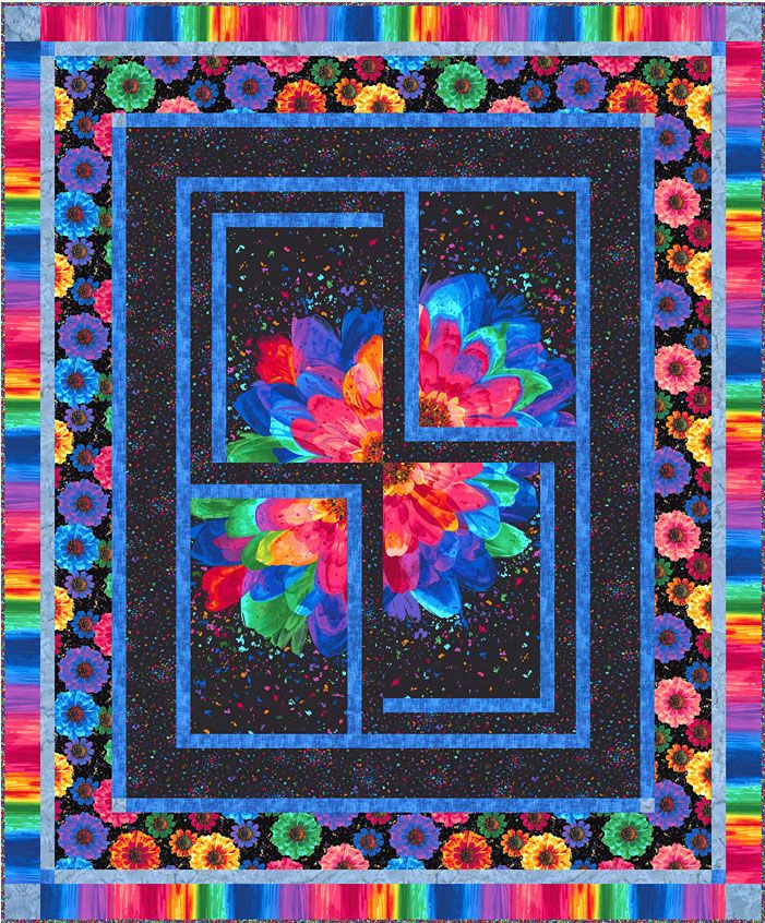 Large Fabric Panels : Best equilter free pattern designer images on