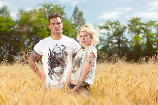 Indastria T-Shirts Promotional Shooting by Nicola Rizzo, via Behance