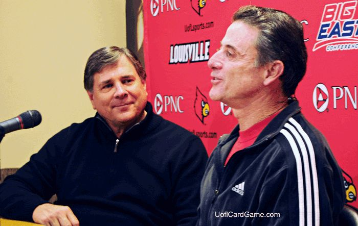 Rick Pitino formalizes passion with Louisville basketball, again
