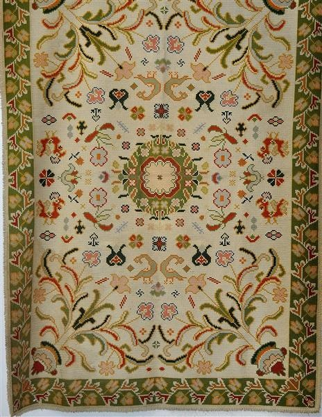 The Arraiolos tapestries, are embroidered carpets in wool on a canvas of jute…