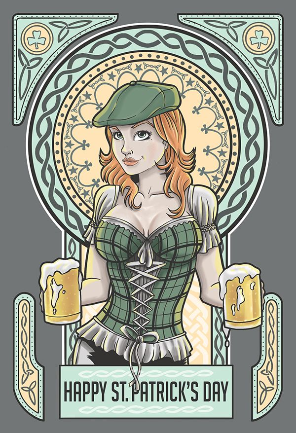 Happy St. Patrick's Day! on Behance