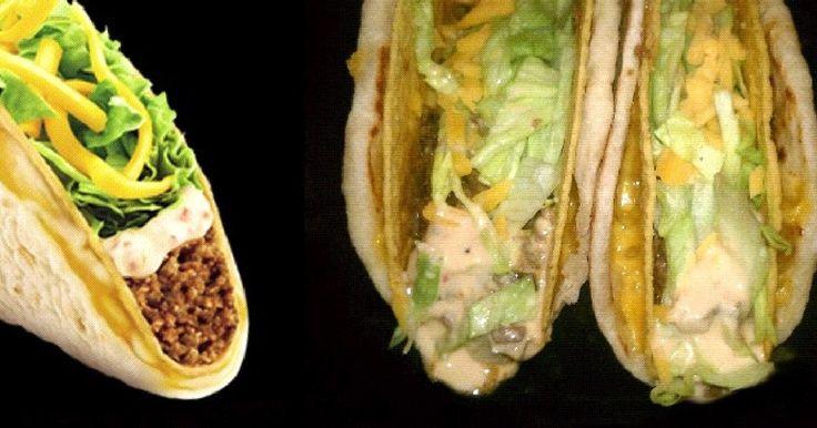 Texas Cookin' at Home: Taco Bell® Cheesy Gordita Crunch - Clone recipe
