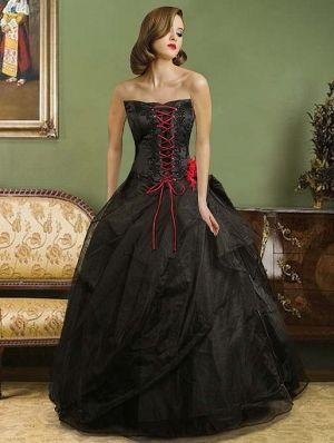 1000  ideas about Black Wedding Dresses on Pinterest - Black ...
