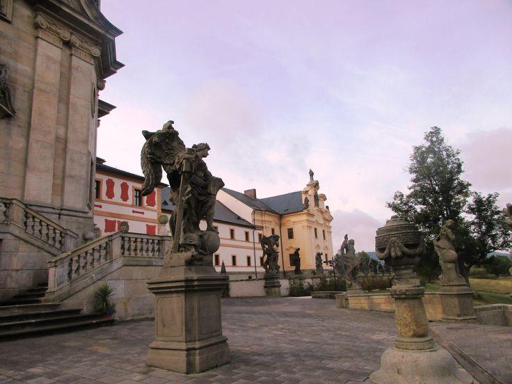 Kuks a socha anděla - Královéhradecký kraj - Česko
