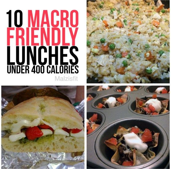 10 macro friendly lunches A few interesting recipes I might try here as I try to balance out macros.