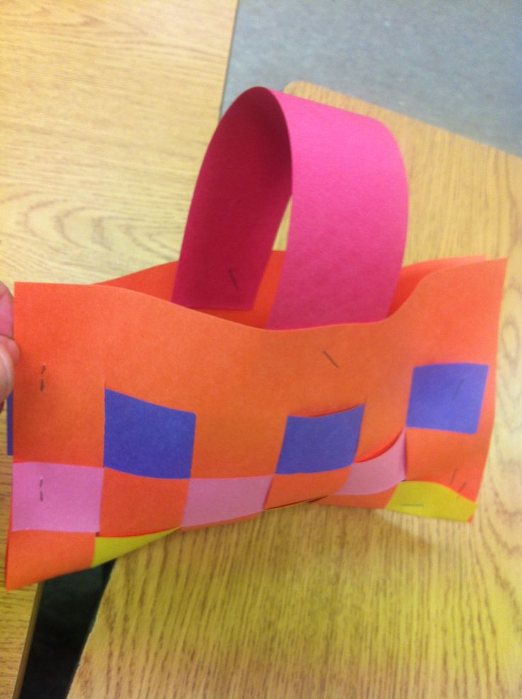 How To Weave A Basket Using Construction Paper : Best images about school social studies on