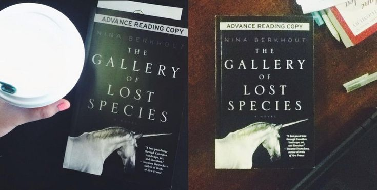The Gallery of Lost Species by Nina Berkhout (House of Anansi) #CanLit