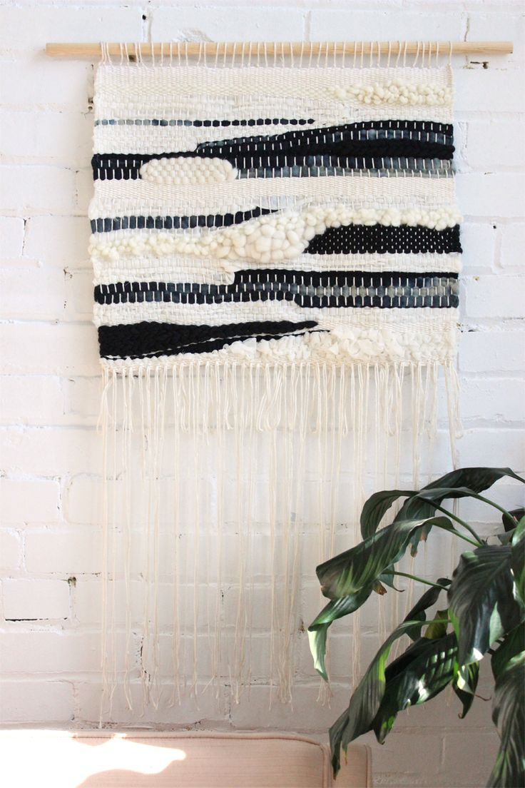 XL wall hanging, weaving by Natacha Castonguay for Baba Souk